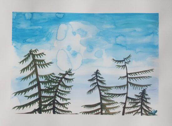 Sarfi-Bluewatercolor