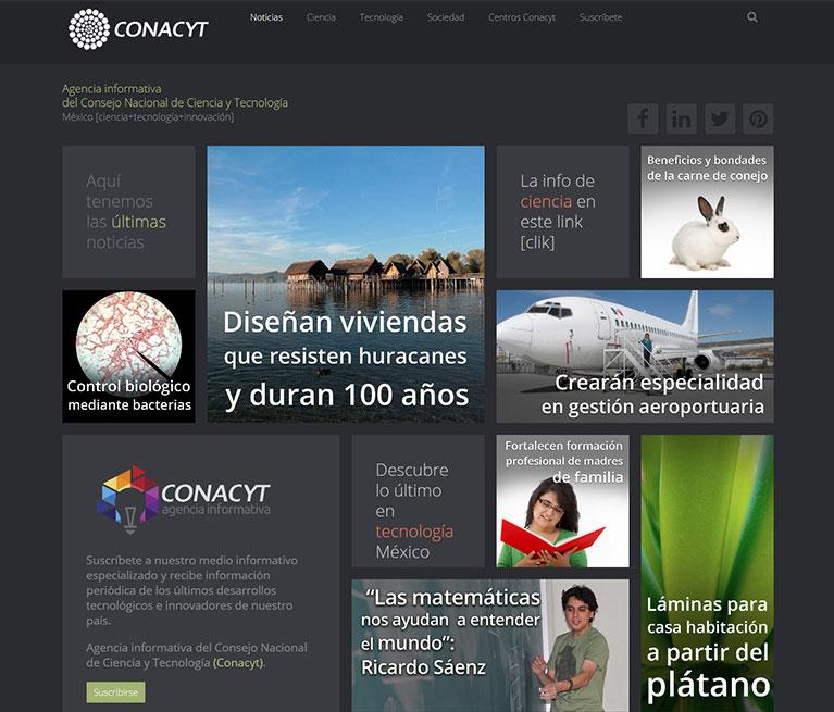 Agencia Informativa Conacyt
