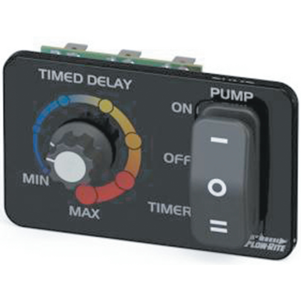 Flow-Rite Pro-Timer Plus Adjustable Livewell Timer with Switch MP-104