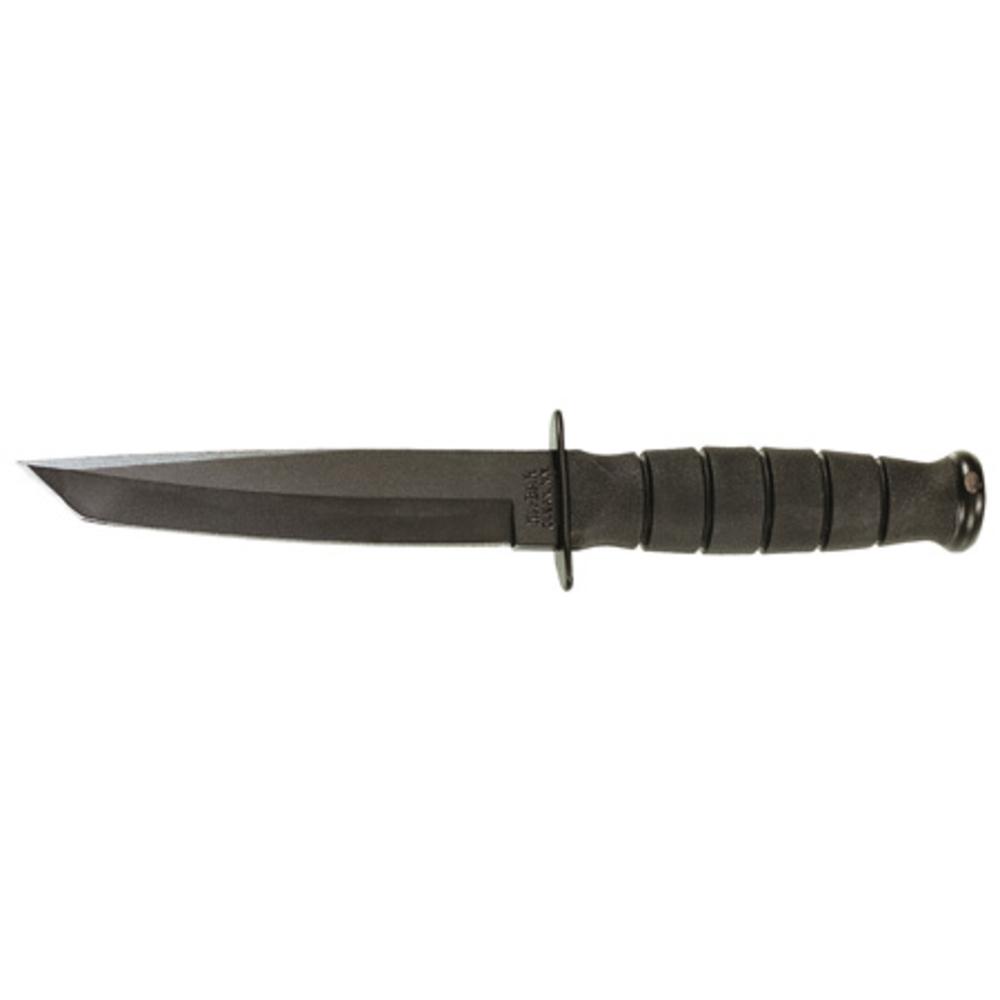 Ka-Bar 1254 Tanto Fixed 5.25 In Black Blade Kraton Handle 617717212543 |  eBay