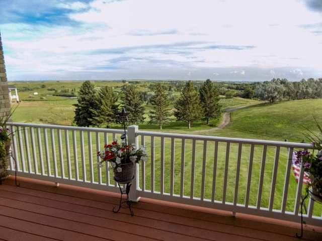 Back Balcony facing golf course