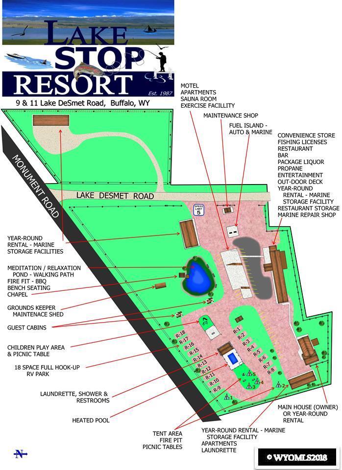 Lake Stop Resort Rendering Of Immediate Resort