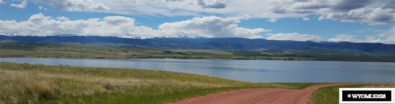 Lake Stop Resort - View From Across Lake DeSmet -