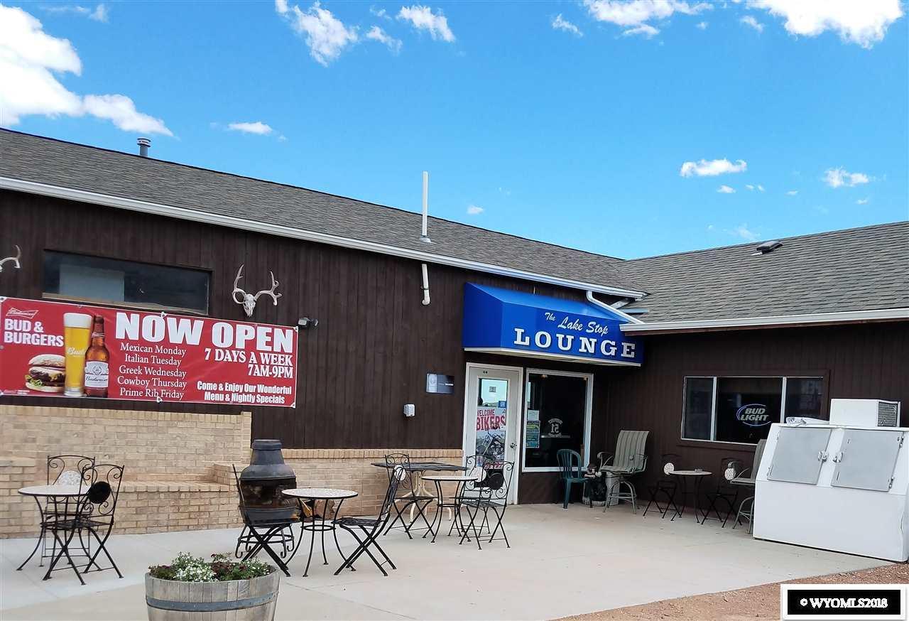 Lake Stop Resort - Restaurant & Bar Entrance