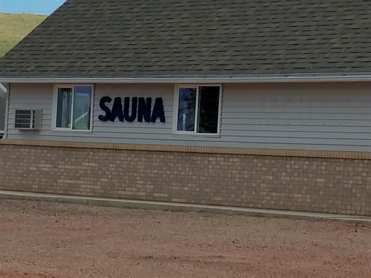 Resort Sauna, Next Door To Motel.