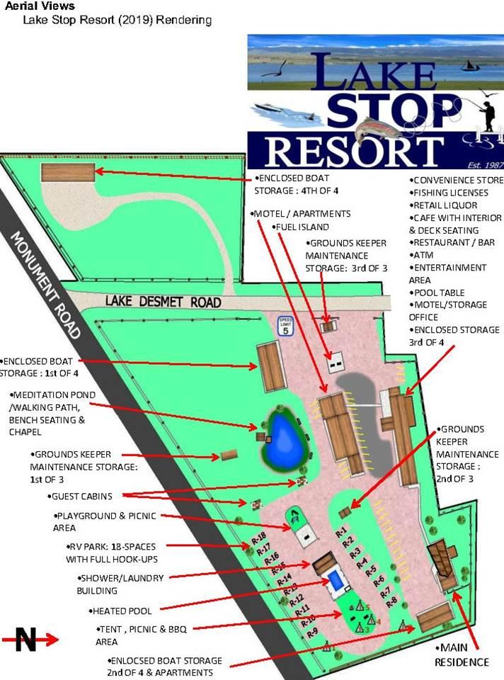 Resort Aerial Rendering 2019.