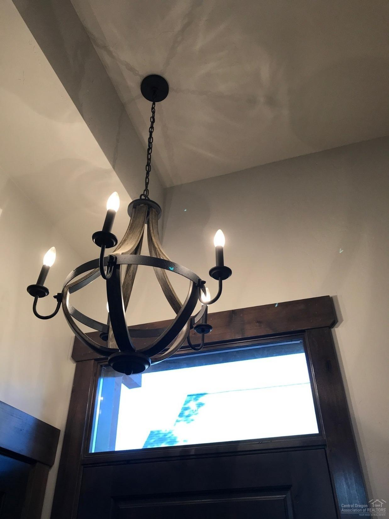 Everyone loves this chandelier in the entryway - p