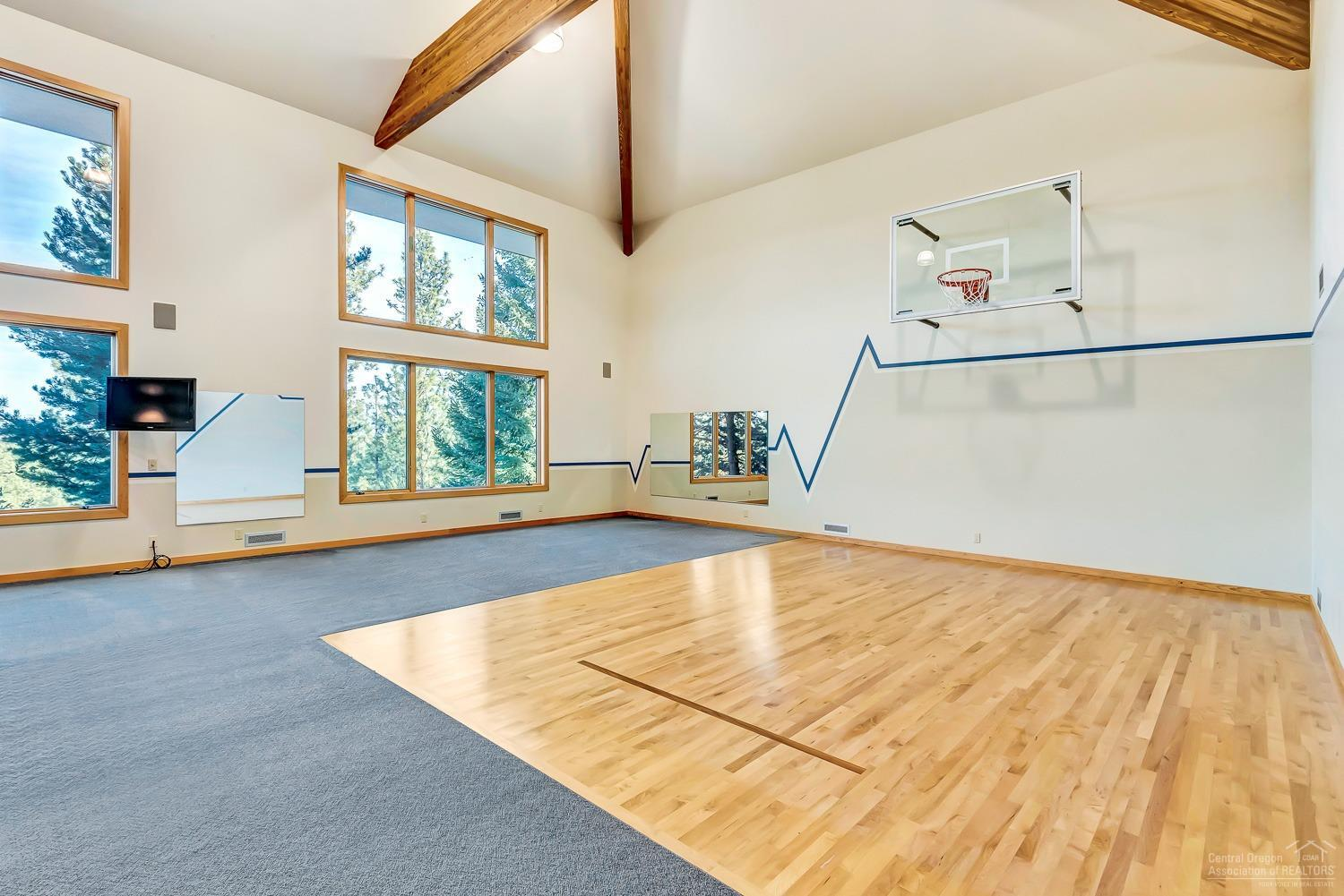 Got Hoops?  Get your basketball game on in your ve