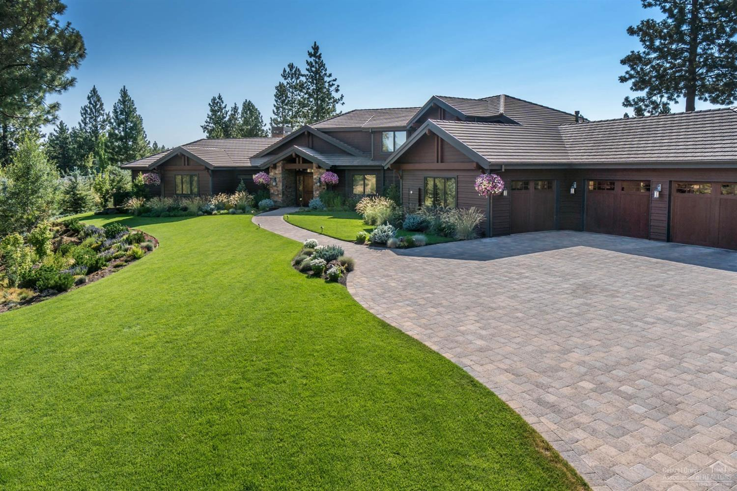 Extensive pavers surround the home, over 5000 pave