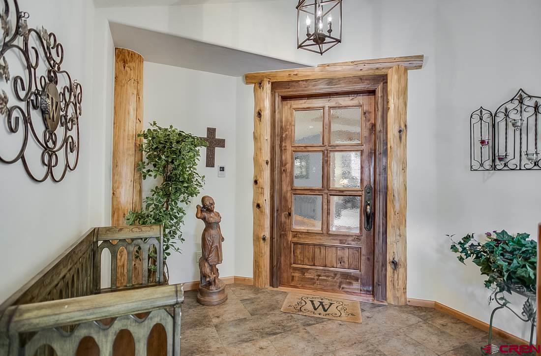 Master suite private entry.