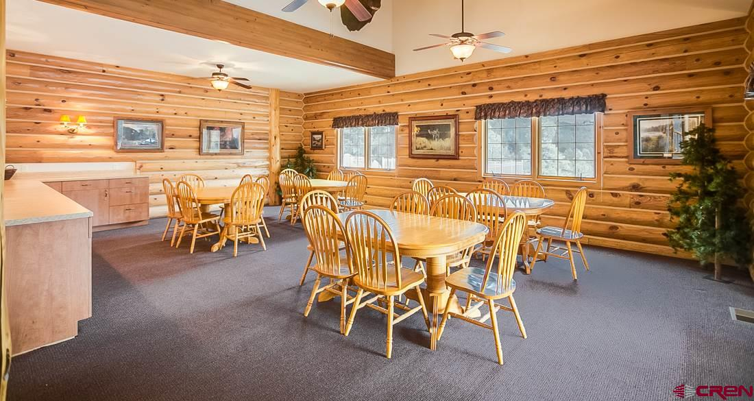 Large group dining area, seats 40 people