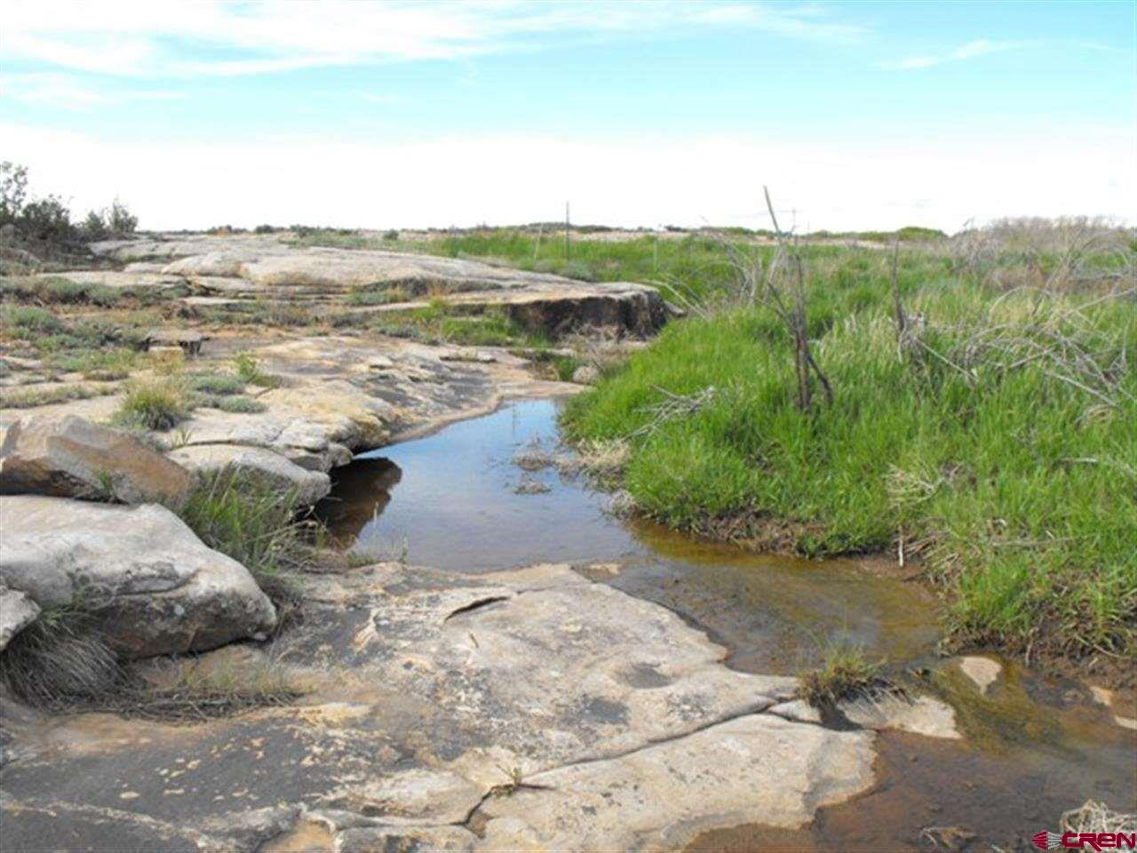 SEASONAL creek - doesn\'t always have water except