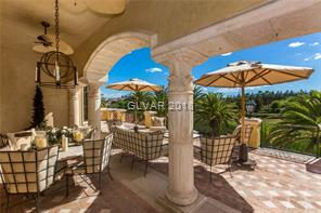 Master suite patio overlooking TPC golf course and
