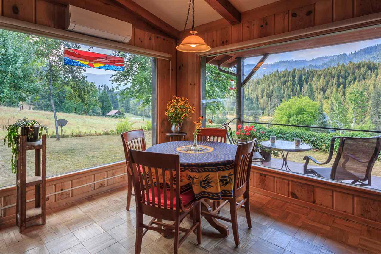 Great Room with River and Mountain Views