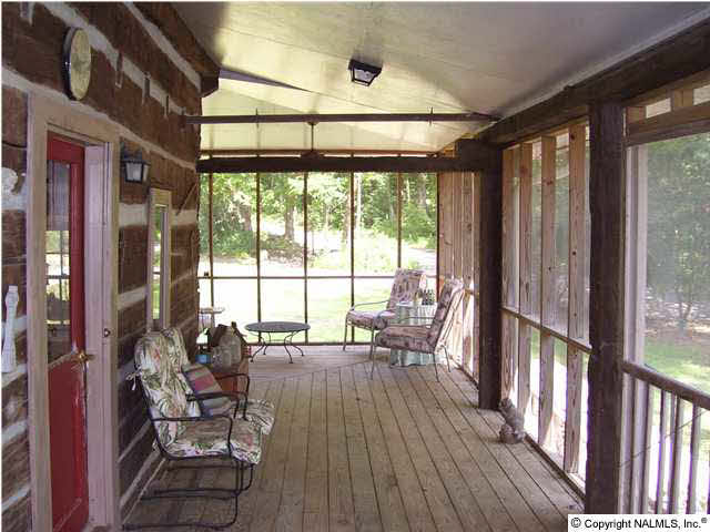 Front Screened Porch is \