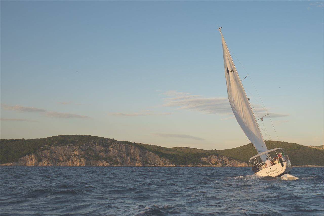 Wilson Lake is a great lake for sailing..