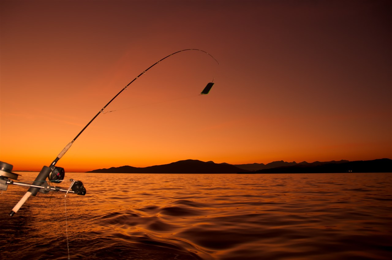 Major fishing tournaments are held each year on Wi