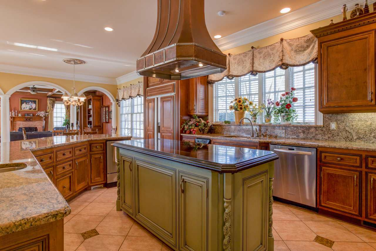 Beautiful kitchen remodeled and updated with Wolf
