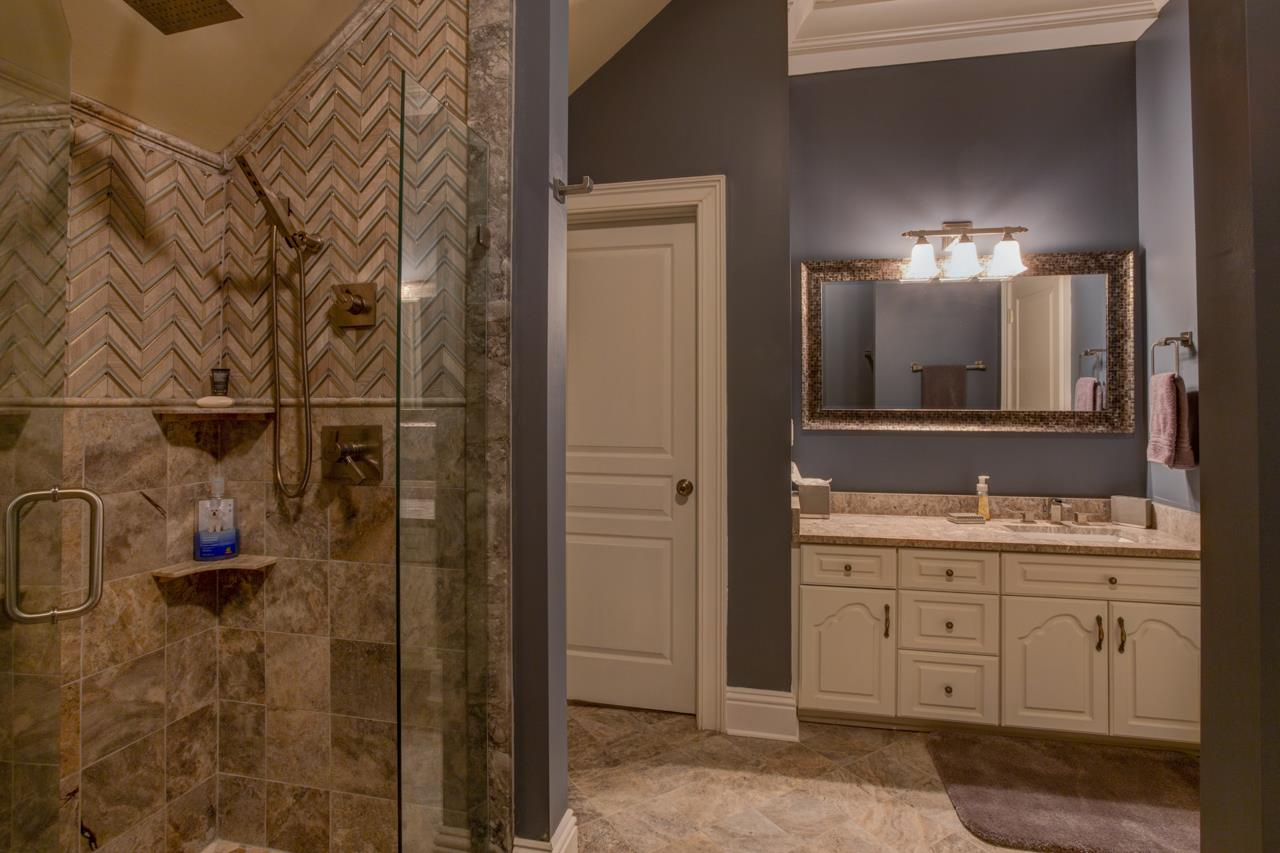 Glamour private bath for Master Bedroom upstairs (