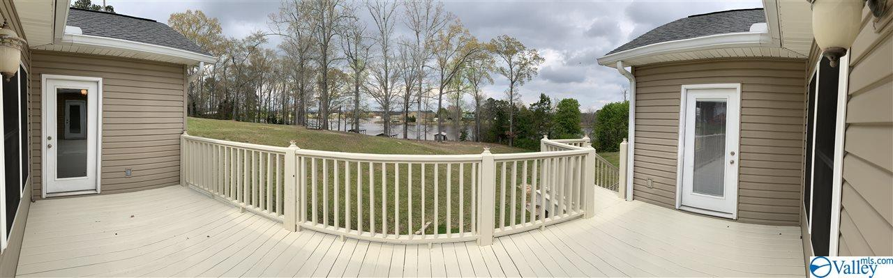 Panoramic view from deck.