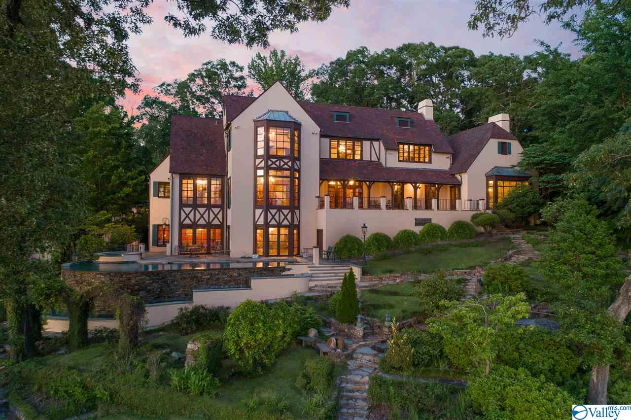 Norman style estate on the Cliffs of Lake Tuscaloo