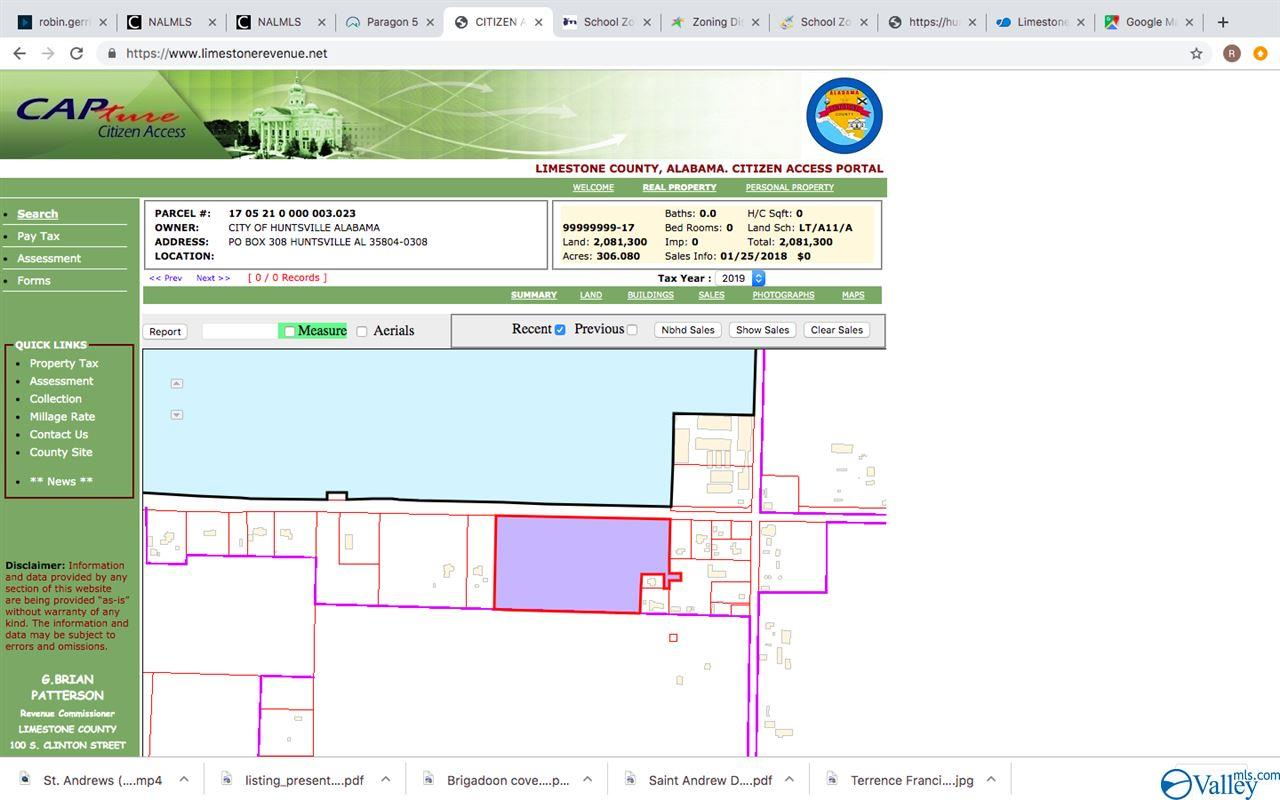 4 parcels to be sold as one tract.