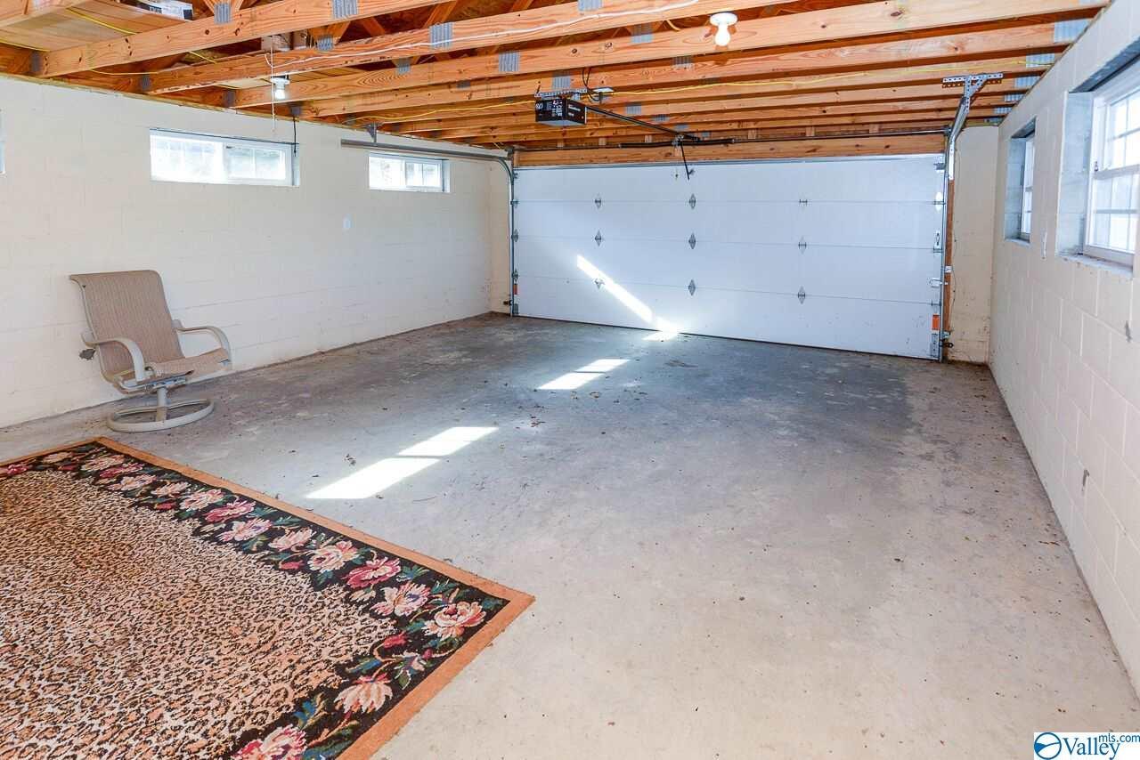 Guest house garage.