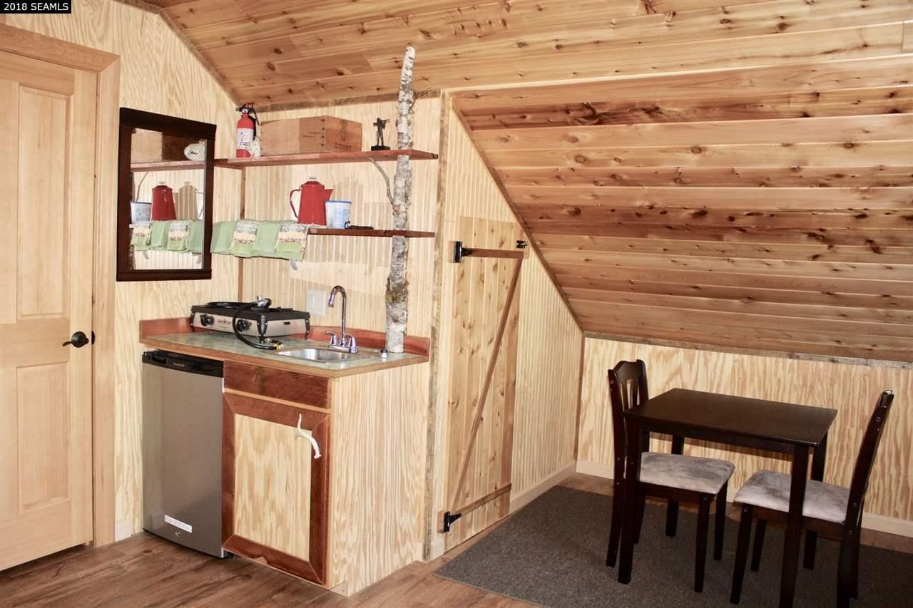 Great for guests, this little self-contained cabin