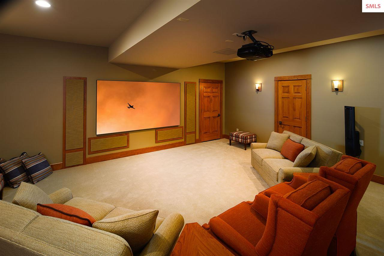 Surround sound with six speakers and two subwoofer