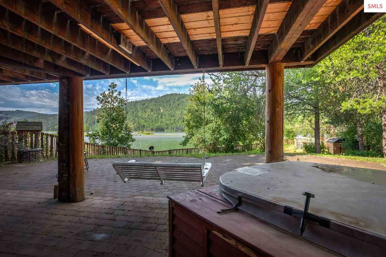 Enjoy the hot tub even if the weather isn\'t perfec