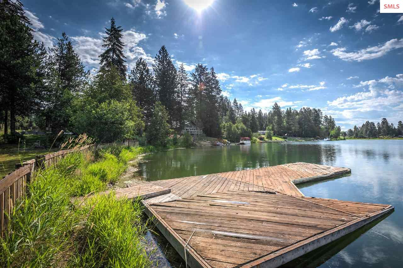 The dock makes travel by boat easy!