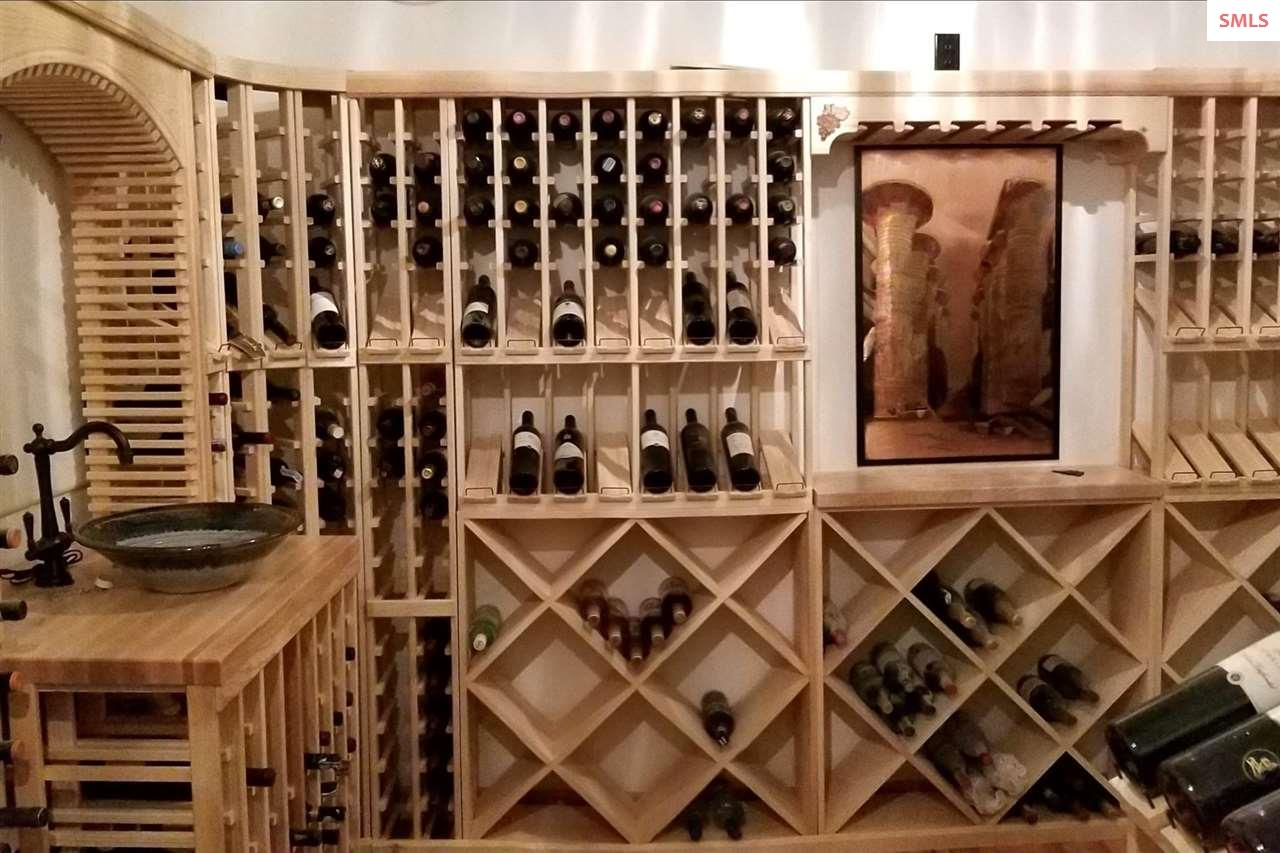 Climate Controlled Wine Room with Spacious Storage