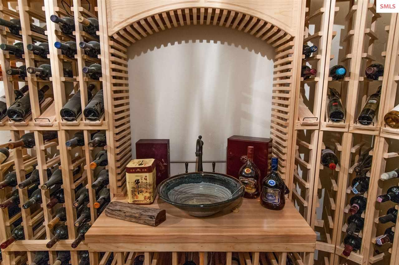 Custom Wine Vault for 1,300 Bottles with Custom Fi