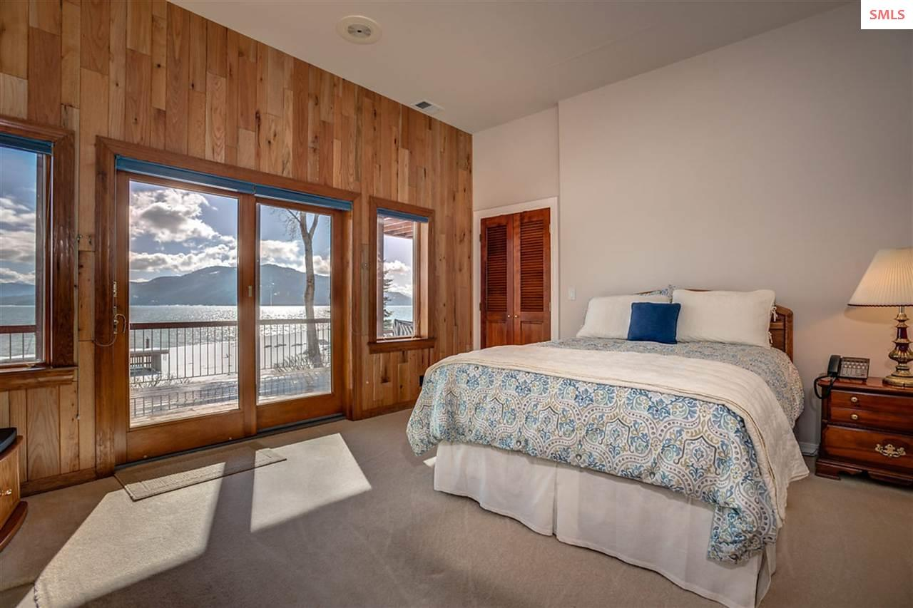 Each suite has lake and mountain views with access