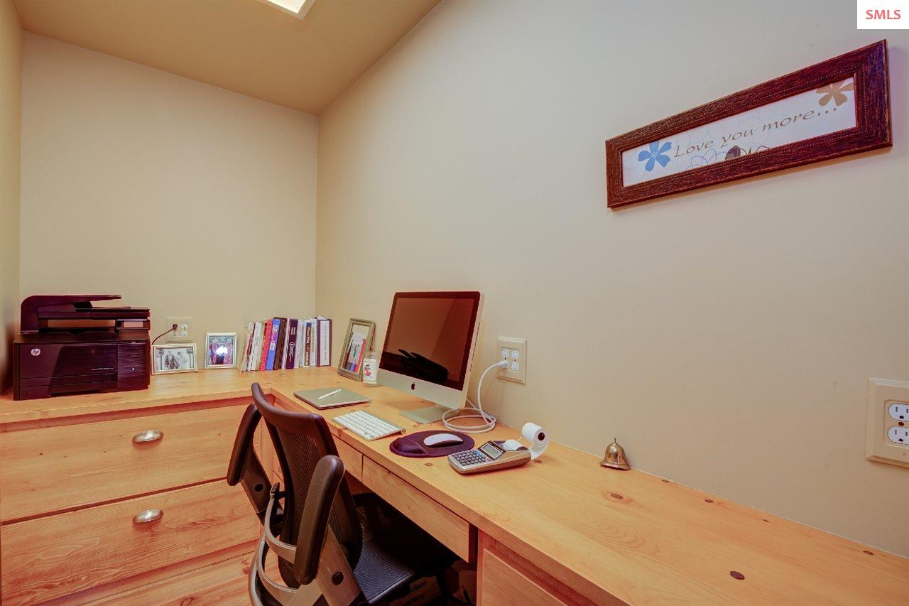 A second office space on main floor