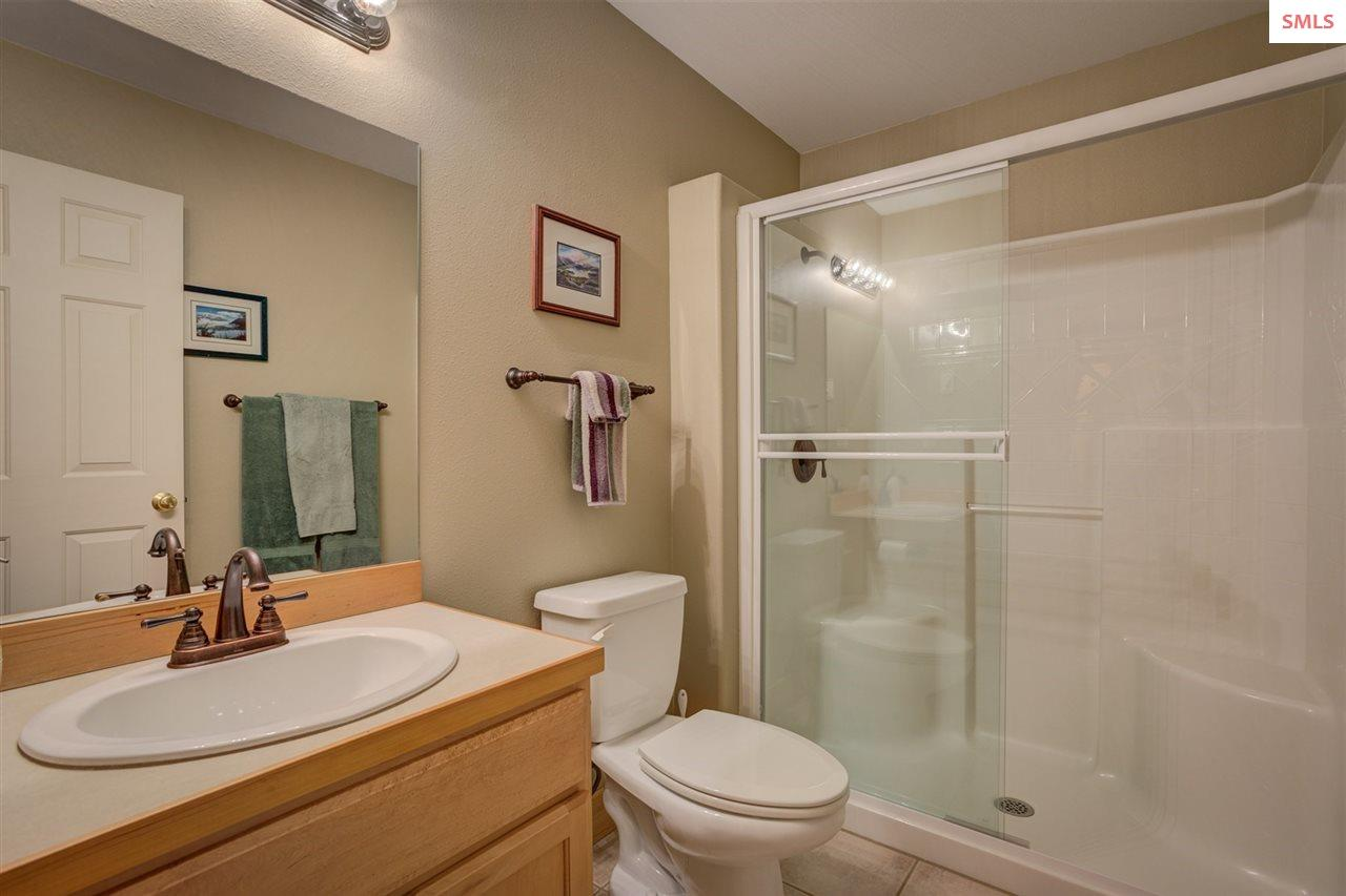 With Shower and Tub Combo