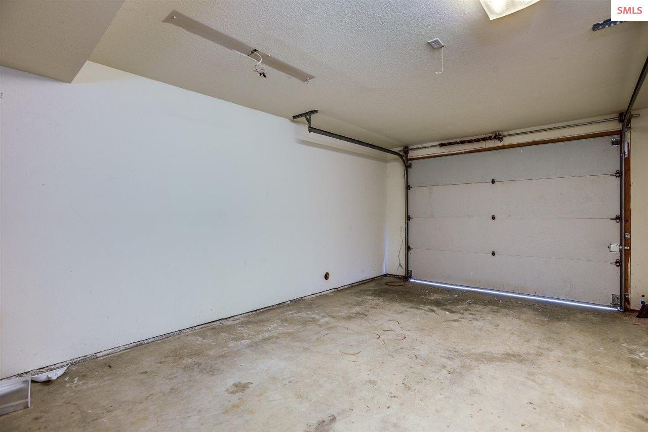 Three private garage stalls