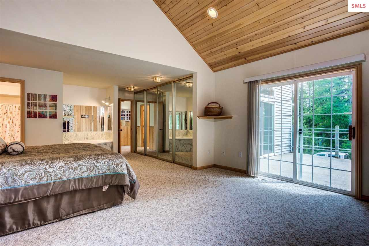 Large closets, generous room, T&G ceilings
