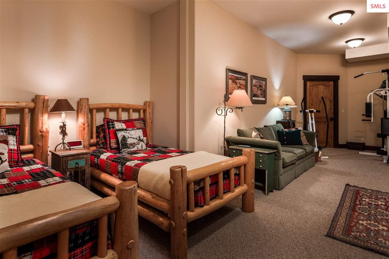 A large bedroom or multi-purpose room - a variety