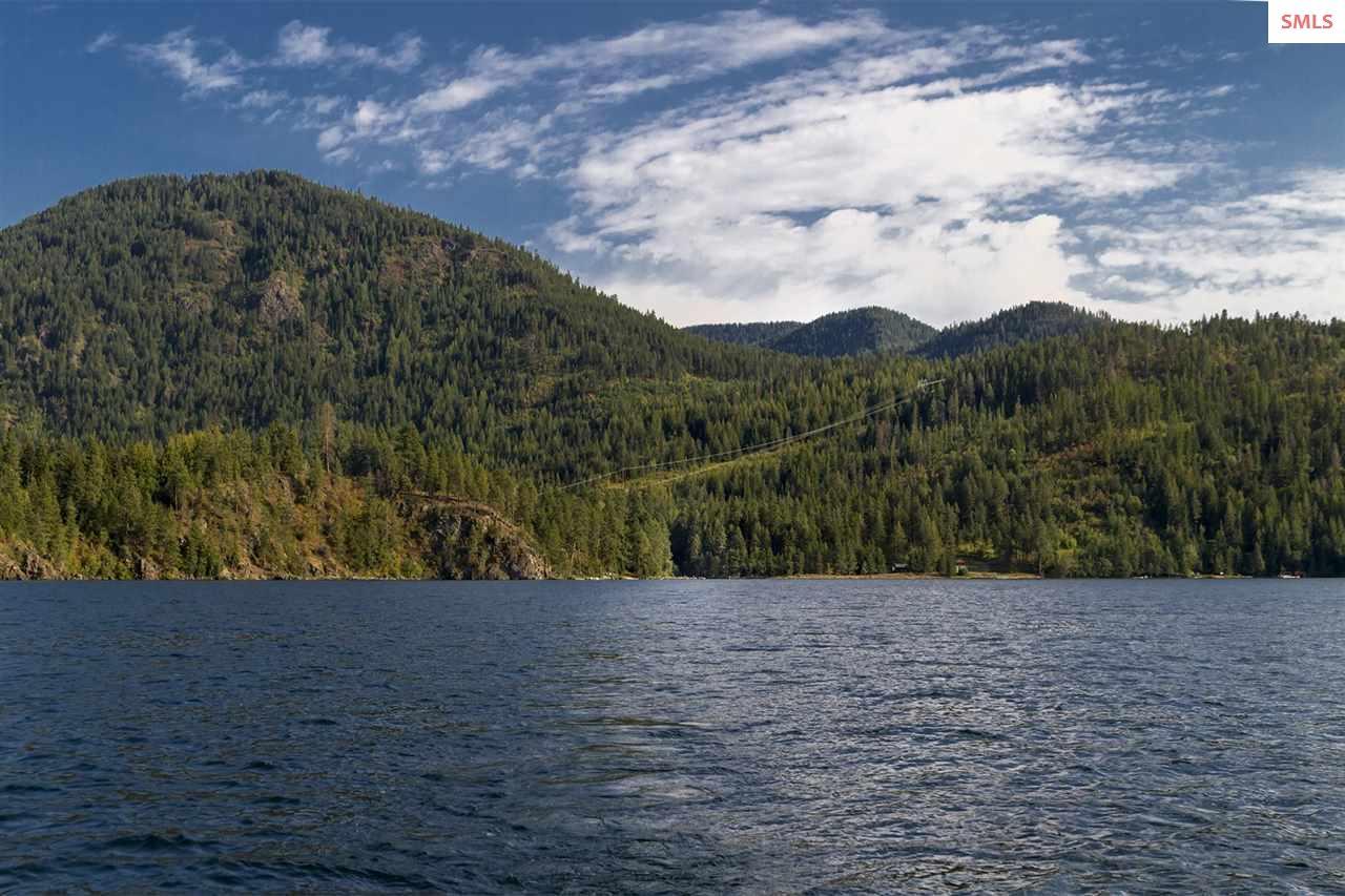 Granite Creek nestled on East side of Lake Pend Or