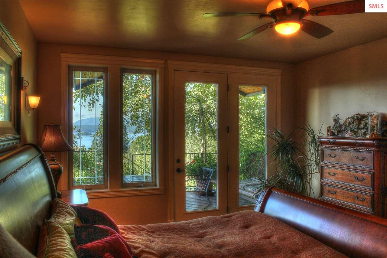 French doors off the master.