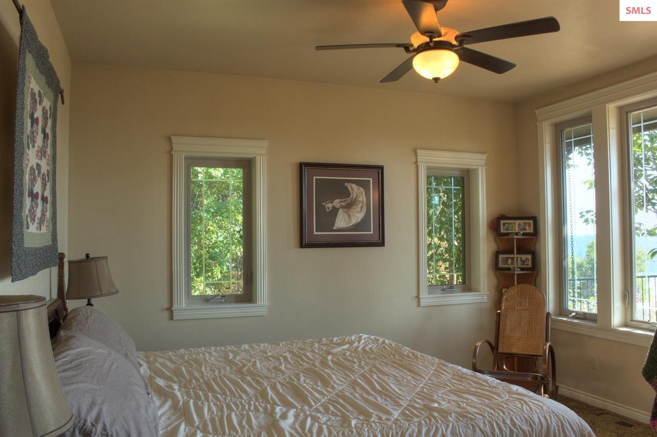 Guest Bedroom with private deck.