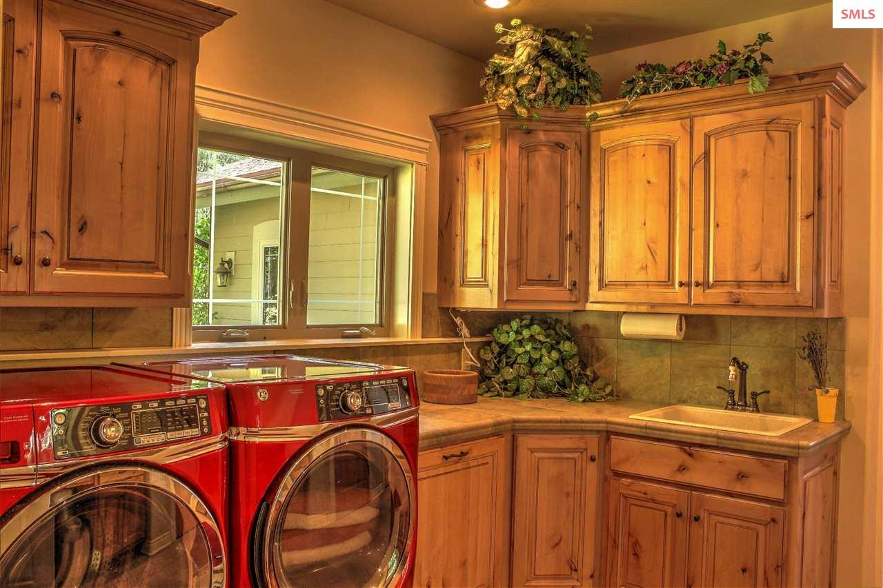 Laundry room and a separate large mud room.