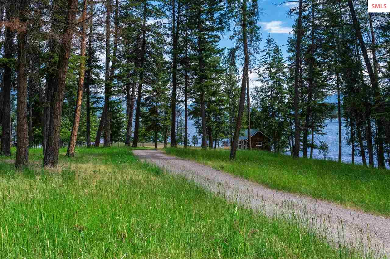 Private road leads into the 9.8 AC estate