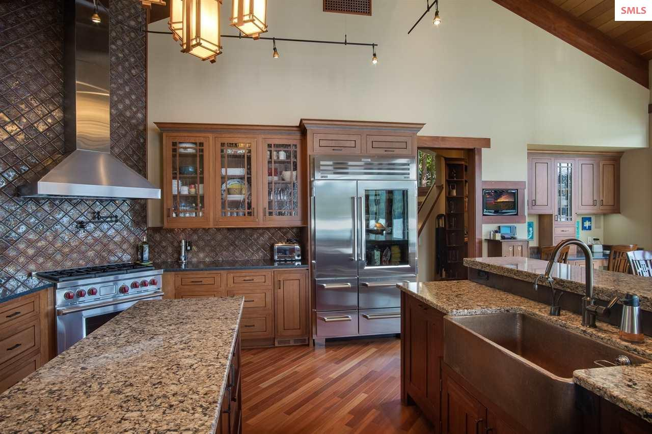 Well designed kitchen allows for easy flow and eff