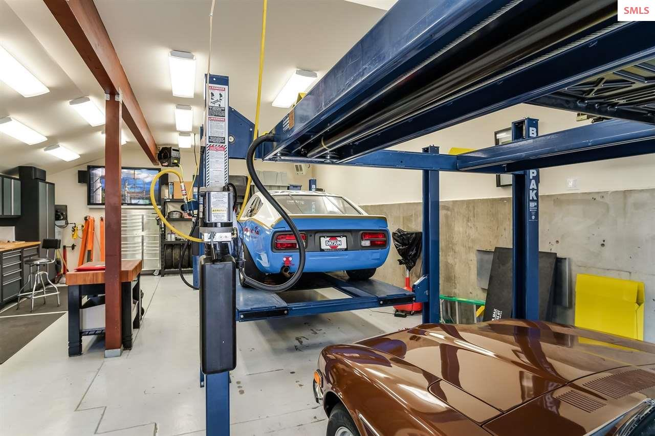 Detached garage keeps all precious cargo safe & se