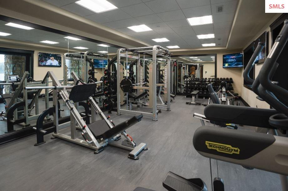 Fully-equipped fitness center. Direct access to th
