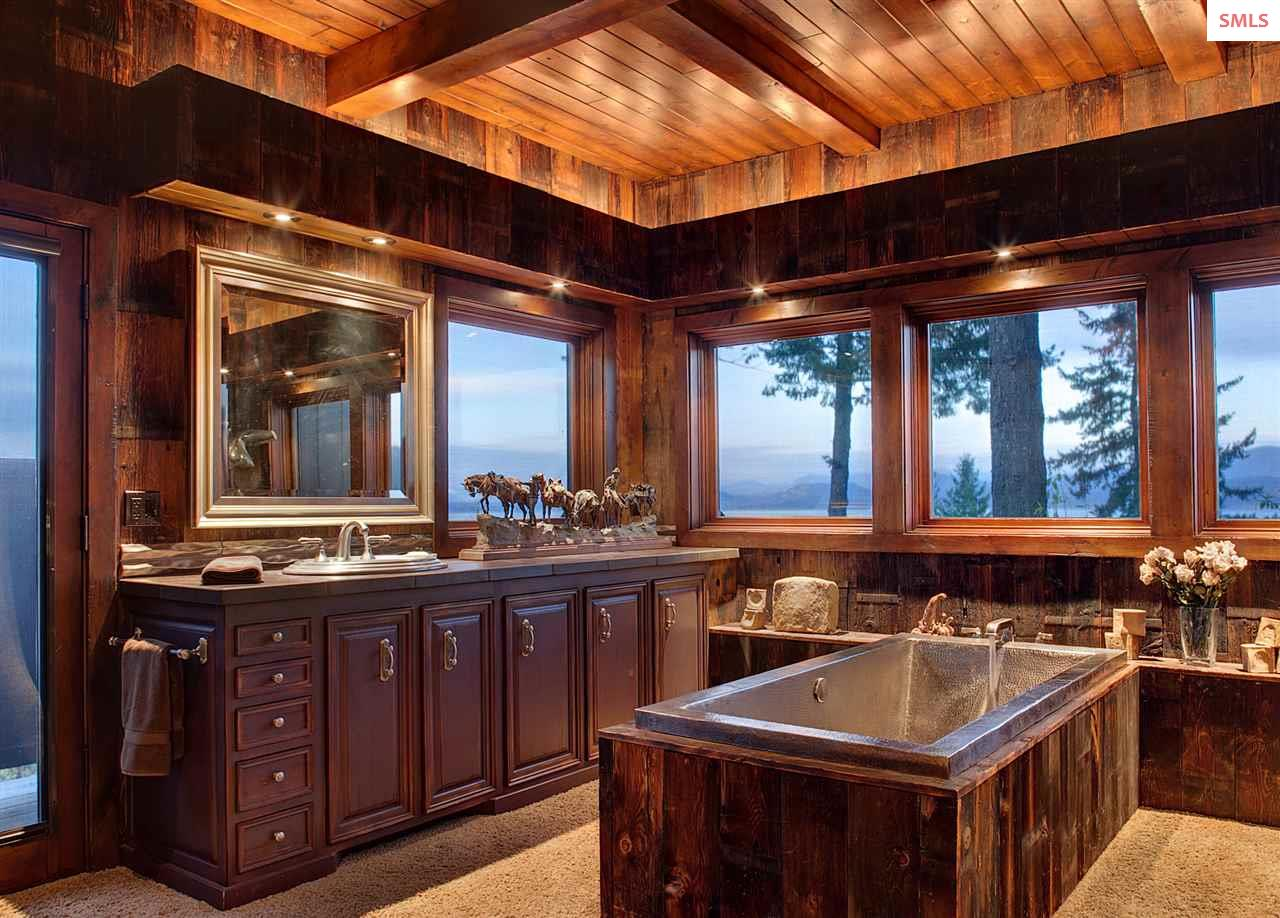 Includes a steam shower and nickel soaker tub. Dua