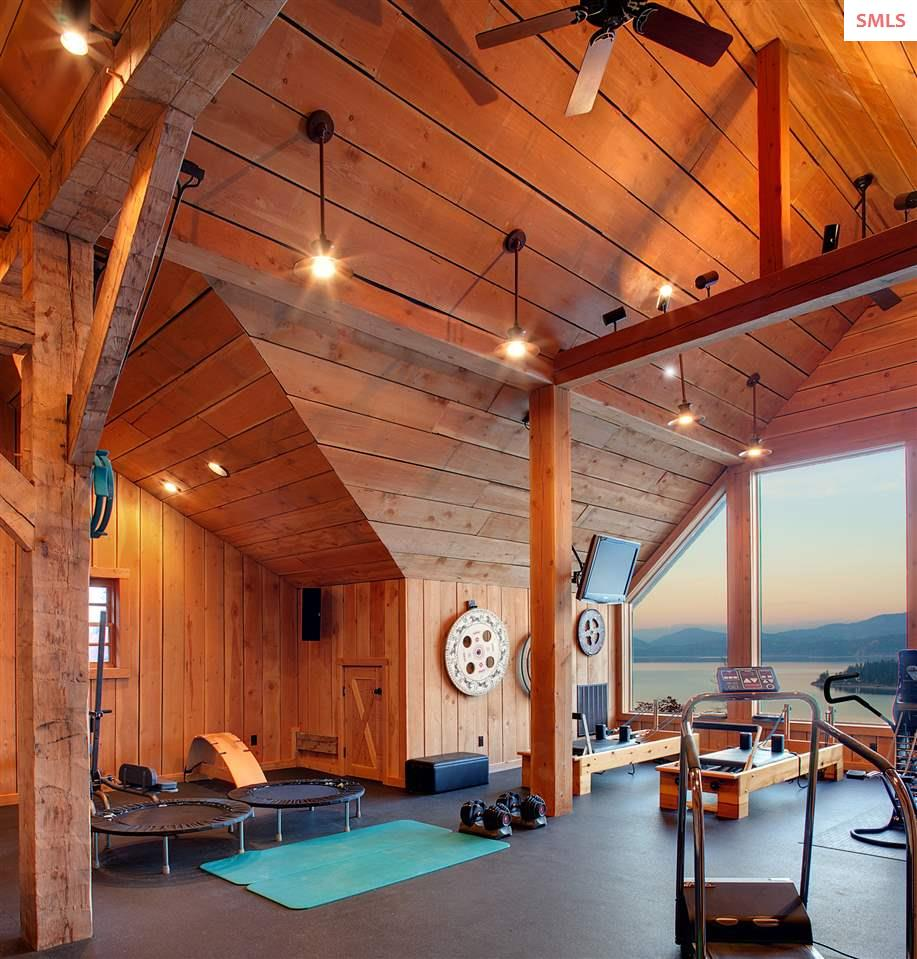 Includes a sauna, massage room and full bath with