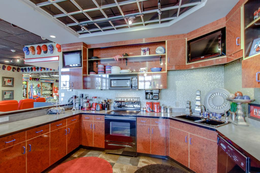Kitchen in lower level